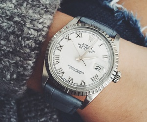 pretty, rolex, and watch image