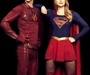 Supergirl, barry allen, and grant gustin image