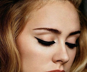 Adele, makeup, and singer image