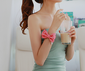 asian girl, blouse, and fashion image