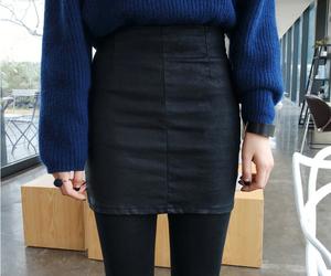 blue, korean fashion, and pure image