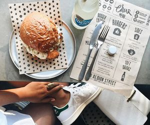 burger, diner, and lunch image