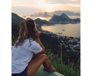 beautiful, brazil, and brunette image