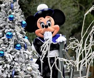 christmas, disneyland, and disney image
