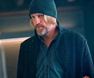 mockingjay, the hunger games, and haymitch image