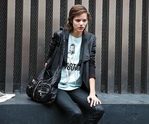 model, Freja Beha Erichsen, and fashion image