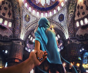 istanbul, couple, and travel image