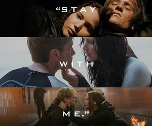 the hunger games, mockingjay, and peeta image