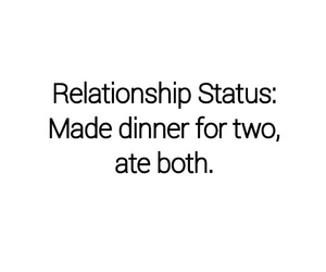 funny, food, and Relationship image