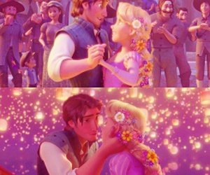 disney, tangled, and love image