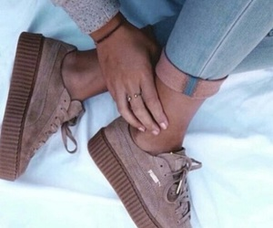 gorgeous, puma, and shoes image