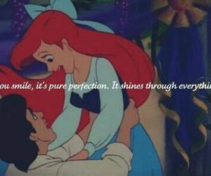 ariel, mermaid, and red hair image