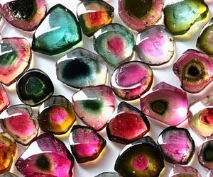 crystal, rainbow, and tourmaline image