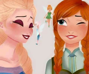 disney princess, frozen, and spring image