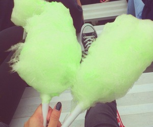 app, candy, and cotton candy image