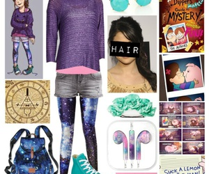 clothes, mabel, and gravity falls image