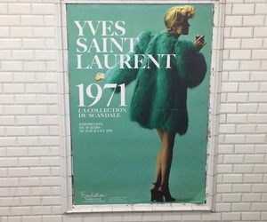 fashion, Yves Saint Laurent, and art image