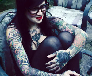 alternative, inked, and girl image