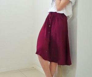 clothes, saia, and fashion image