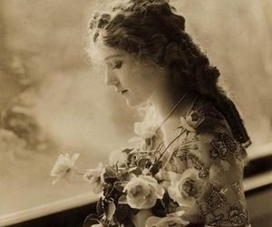 beauty and vintage image