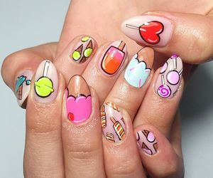beauty, yummy, and gel nail image