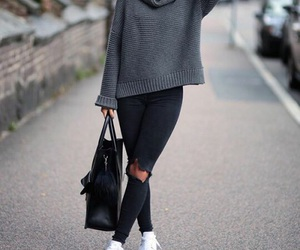 model, outfit, and style image