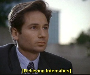 alien, mulder, and x-files image