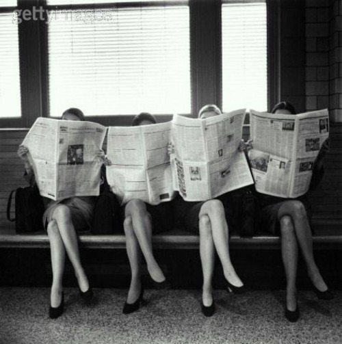 black and white, girls, and vintage image