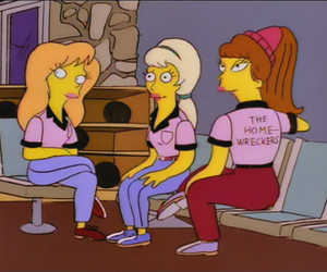 the simpsons, marina and the diamonds, and simpsons image