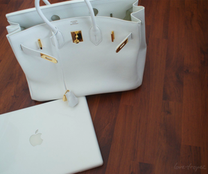 bag, apple, and hermes image