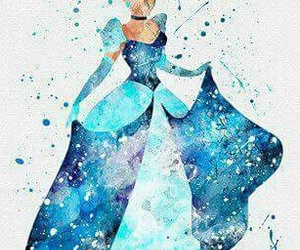 cinderella, disney, and art image