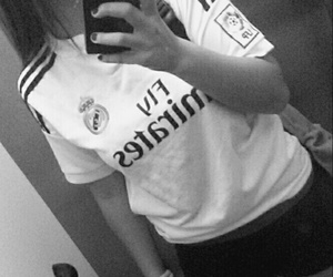 Chica, girl, and madridista image