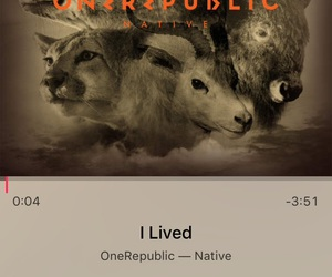 native, one republic, and i lived image