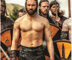 beards, vikings, and rollo image