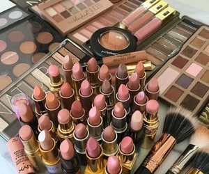 beige, Lipsticks, and brown image