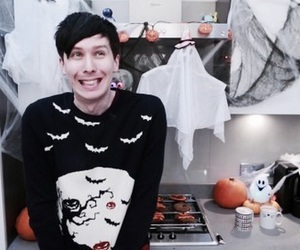 phil lester, amazingphil, and Halloween image