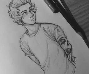 Harry Styles, drawing, and art image