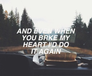 cars, Lyrics, and sad image