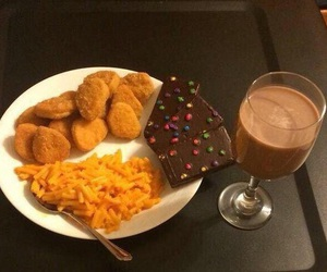 food, chocolate, and funny image