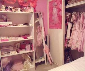 closet, kawaii, and room image