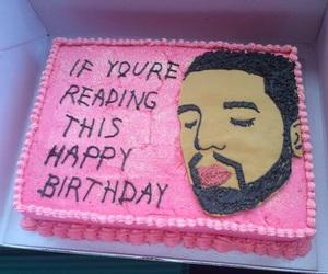 Drake, cake, and pink image