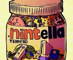 nutella, nintendo, and nintella image