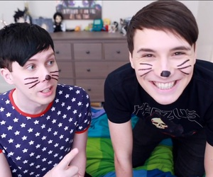 danisnotonfire, dan howell, and phan image