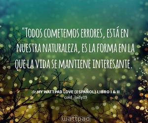 frases en español, wattpad, and my wattpad love image