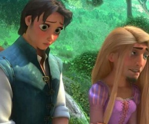 tangled, rapunzel, and funny image