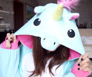anime, baby, and unicornio image