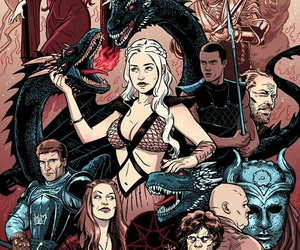 art, a song of ice and fire, and game of thrones image