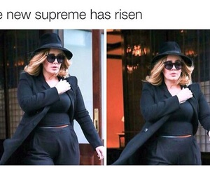 Adele, funny, and ahs image