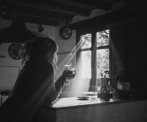 light, coffee, and morning image
