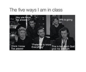 school, one direction, and funny image